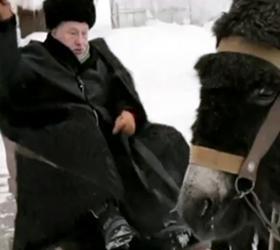 Украинец  требует, чтобы Владимир Жириновский извинился перед ослом