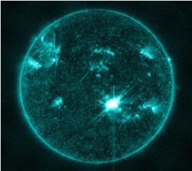 8 марта следует ждать магнитную бурю из-за мощной вспышки на Солнце