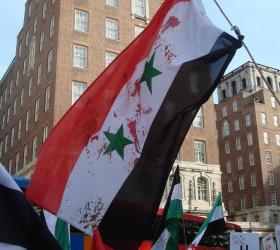 Сирийская оппозиционная армия пополнилась пятью танковыми экипажами