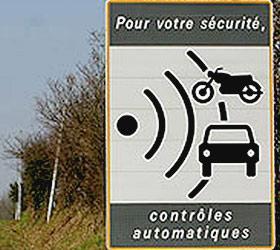 В правилах дорожного движения появится новый знак, предупреждающий о камерах видеофиксации