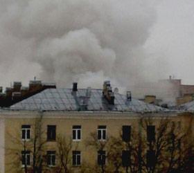 Степень сложности пожара в Петербурге повысили до 3
