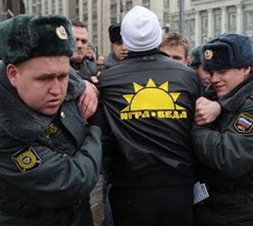 У Госдумы усилена охрана, оппозиционеры задержаны