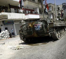 Перемирие было не долгим. В Сирии возобновились боевые действия