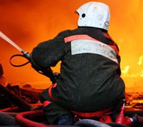 Пожар в новосибирском административно-торговом центре