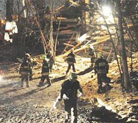 1 человек погиб при обрушении здания на юге Москвы