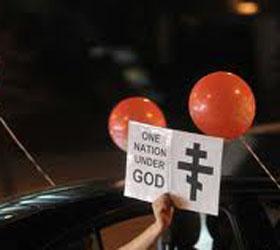 Автопробег в поддержку Православной  церкви прошел в столице