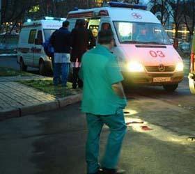 4 человека госпитализированы  в результате массовой драки на северо-западе Москвы