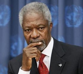 Кофи Аннан придумал план урегулирования ситуации в Сирии
