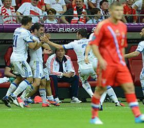 Российская сборная досрочно покидает Евро-2012
