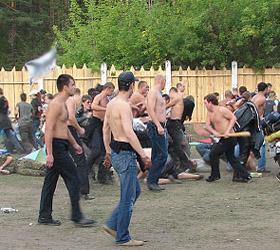 Под Иркутском подрались китайцы и местные жители