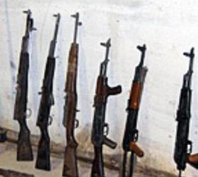 В Подмосковье обнаружили склад оружия