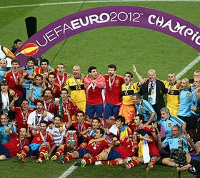 Испания во второй раз подряд становится чемпионом Европы