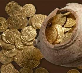 Студент нашел золотой тайник на Святой земле