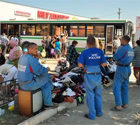 В ночь наводнения в Крымске сотрудники МЧС спасли сотни людей