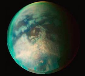 На Титане началась зима