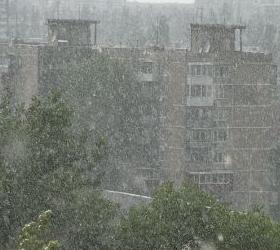 В Краснодарском крае из-за ливней объявлено экстренное предупреждение