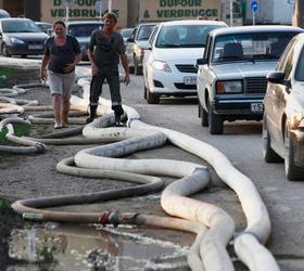 В Крымске спасателями уже завершена активная фаза работ