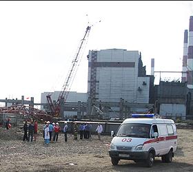 Ядовитый химикат разлился на заводе под Санкт-Петербургом