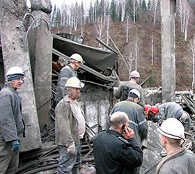 "В шахте ""Комсомолец"" произошел пожар"