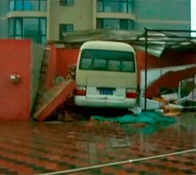 Шторм, произошедший в Китае, лишил крова 14 тысяч пекинцев