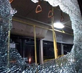 В Москве задержали хулиганов, которые расстреливали автобусы