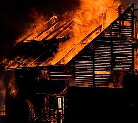 В Забайкалье в результате пожара погибла бабушка и трое ее внуков