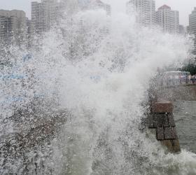 На Китай обрушился тайфун «Дамрей». В результате погибли 9 человек