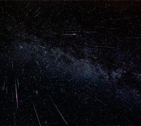 В небе над Новосибирском произошел метеоритный дождь из Персеидов