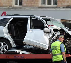 Под Саратовом полицейский в аварии убил детей