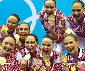 Российская олимпийская сборная показала наивысший результат в синхронном плавании