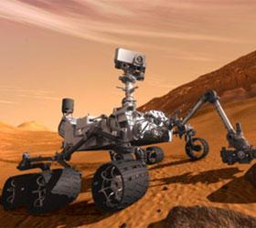 Марсоход ищет на Марсе воду