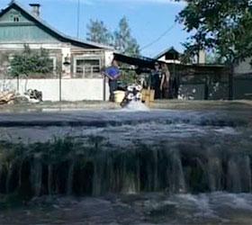 В Краснодарском крае стихия подтопила поселок Михайловский