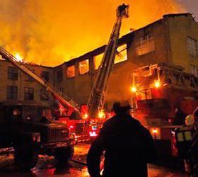 Во время пожара погибли два человека