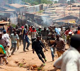 столкновение в Кении