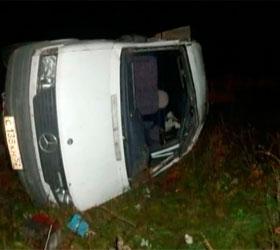 В аварии под Нижнем Новгород пострадали девять человек