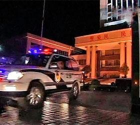 В Китае задержали хулиганов, которые напали на машину посла Японии