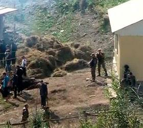 В Дагестане задержали боевика, который был вооружен гранатой