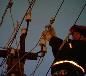 В Подмосковье почти восстановили подачу электроэнергии