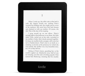 Amazon выпустила читалку с подсветкой