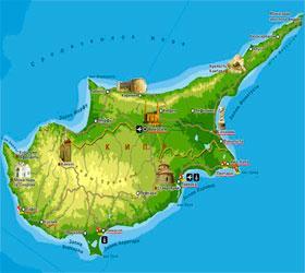 Россия согласилась дать Кипру кредит на 4,5 млрд. долларов