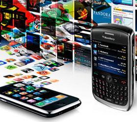 Девять из десяти скачиваемых мобильных приложений - бесплатные