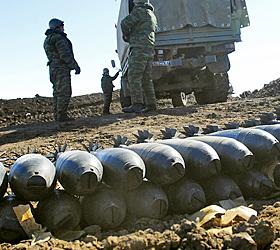 На Тоцком полигоне во время уничтожения боеприпасов погиб офицер
