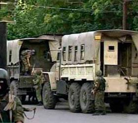 В Дагестане боевиками был атакован пермский ОМОН
