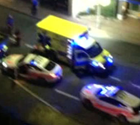 После погони за нарушителем полицейские в его автомобиле обнаружили раненого