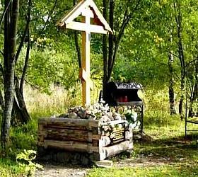 В Петербурге над бывшей могилой Распутина был спилен крест