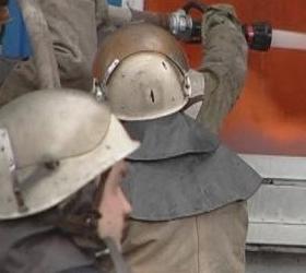 В Подмосковье горит склад лакокрасочных материалов