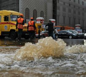 Авария на водопроводе под Ростовом