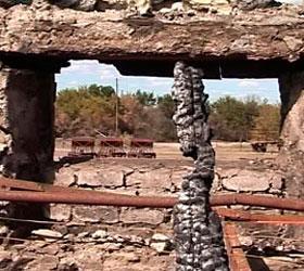 В Республике Дагестан выгорела школа-интернат