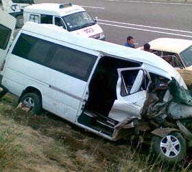 В республике Марий Эл столкнулись одиннадцать автомобилей