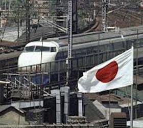 В Японии с рельсов сошел поезд
